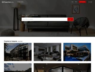 propertiesguru.com screenshot
