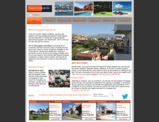 property-costa-del-sol.co.uk screenshot