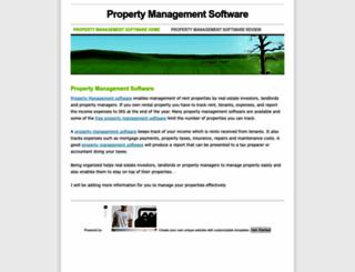 property-management-software.weebly.com screenshot