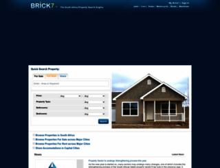 property.brick7.co.za screenshot