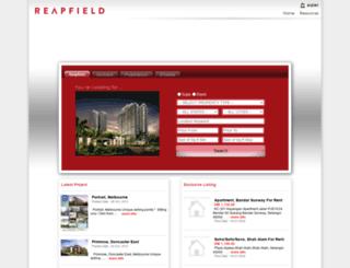 property.reapfield.com screenshot