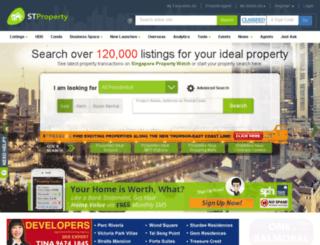property.st701.com screenshot
