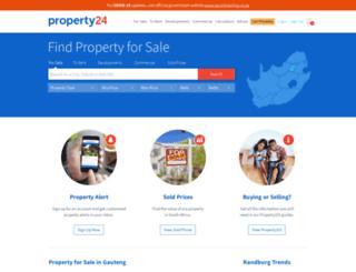 property24.co.za screenshot