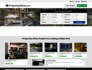 propertyadsja.com screenshot