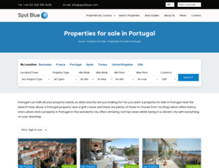 propertyandportugal.co.uk screenshot
