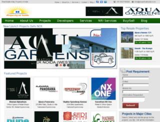 propertyatnoida.co.in screenshot