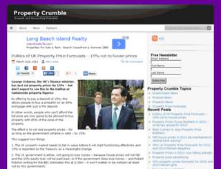 propertycrumble.co.uk screenshot
