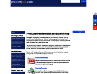 propertydo.com screenshot