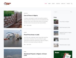 propertyfinder.com.ng screenshot