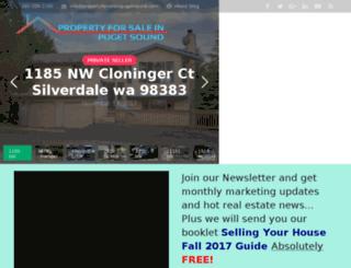 propertyforsaleinpugetsound.com screenshot