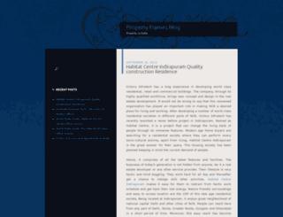 propertyframesblog.wordpress.com screenshot