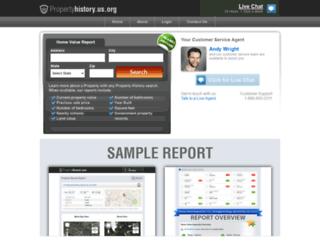 propertyhistory.us.org screenshot