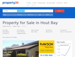 propertyinhoutbay.co.za screenshot
