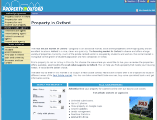propertyinoxford.org screenshot