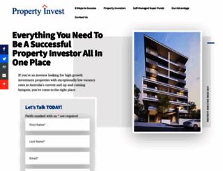propertyinvest.com.au screenshot