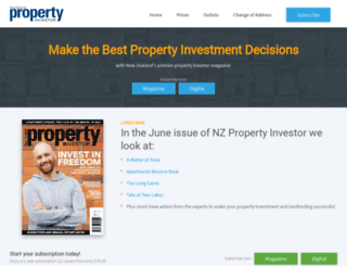 propertyinvestor.co.nz screenshot