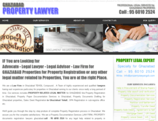 propertylawyergzb.com screenshot