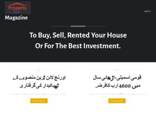 propertylinkmag.wordpress.com screenshot