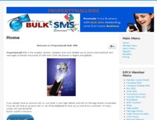 propertymallsms.com screenshot