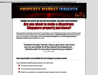 propertymarketinsights.com screenshot