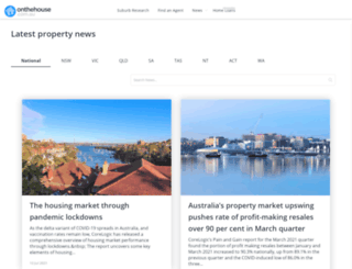 propertynews.onthehouse.com.au screenshot