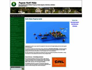 propertynorthwales.net screenshot