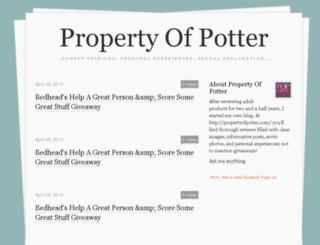 propertyofpotter.tumblr.com screenshot