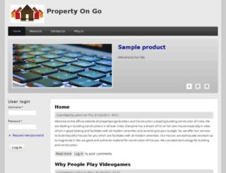 propertyongo.com screenshot