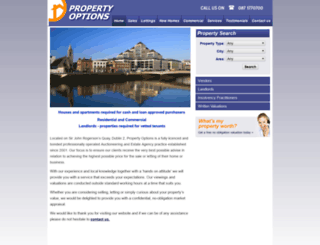 propertyoptions.net screenshot