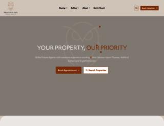 propertyowl.co.uk screenshot