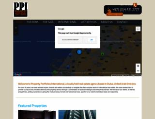 propertyportfolios.ae screenshot
