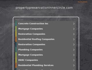 propertypreservationinnercircle.com screenshot