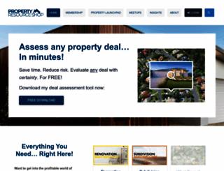 propertyresourceshop.com screenshot