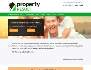 propertyresult.co.uk screenshot