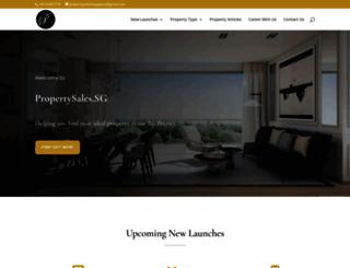 propertysales.sg screenshot