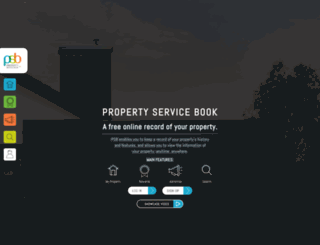 propertyservicebook.com screenshot