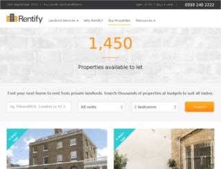 propertysnake.co.uk screenshot