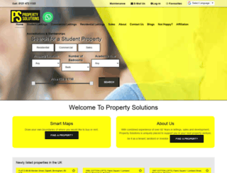 propertysolutions.co screenshot