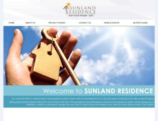 propertysunland.com.my screenshot