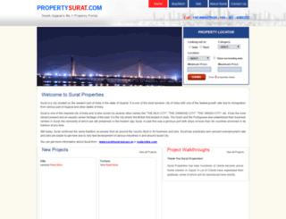 propertysurat.com screenshot