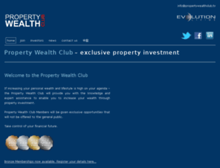 propertywealthclub.tv screenshot
