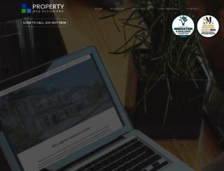propertywebdesignpro.co.uk screenshot