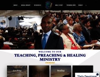 prophesyagain.org screenshot