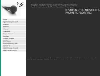 prophetbensmith.org screenshot