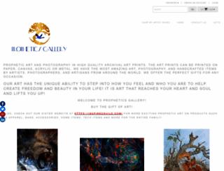 propheticsgallery.artstorefronts.com screenshot