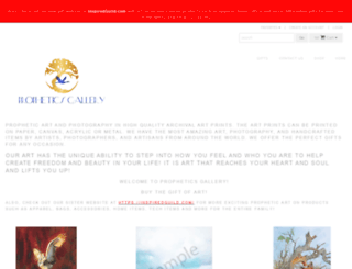 propheticsgallery.com screenshot