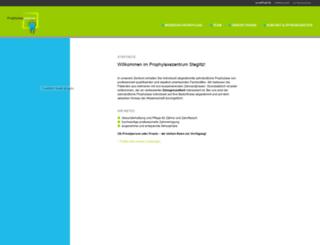 prophylaxe-steglitz.de screenshot