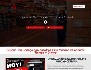 propiedades1a.com screenshot