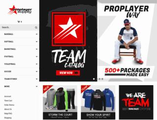 proplayersupply.com screenshot