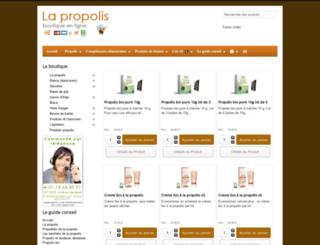 propolis-guide.com screenshot